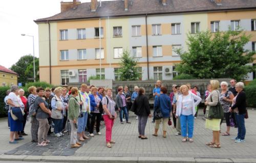 """Wycieczka """"Podegrodzie -Tarnów – Zalipie – Zabawa – Podegrodzie"""" -  20.07.2019 r."""