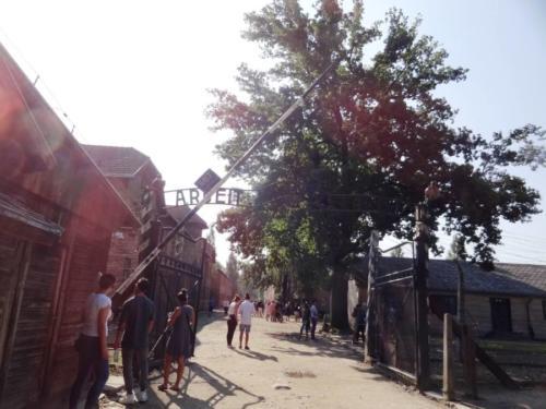 Wycieczka  do Auschwitz Birkenau i miasta Oświęcim w dniu 21 lipca 2018 roku.