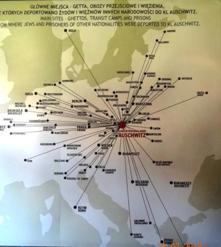 Wycieczka  do Auschwitz Birkenau 085