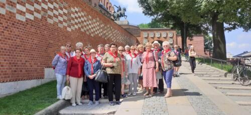 Wycieczka do Krakowa  4 lipca 2021